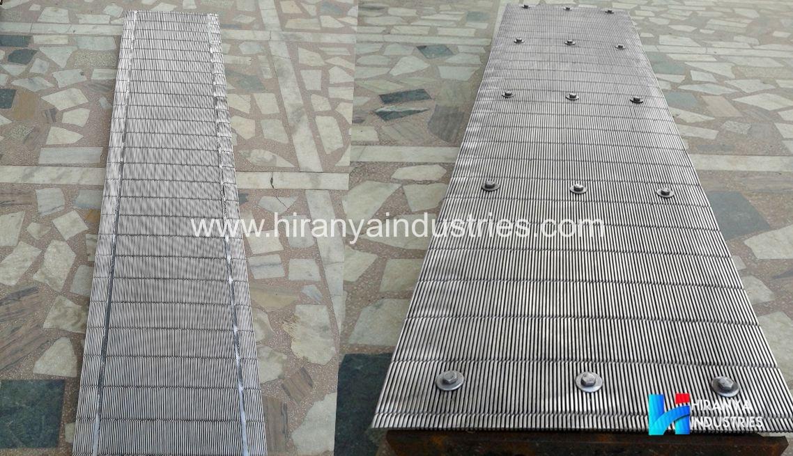 Wedge Wire Conveyor Screens | Hiranya Industires